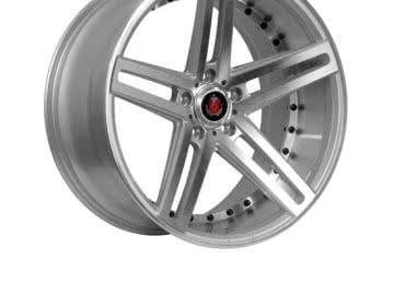 Axe Ex20 20X8.5 Et25 114.3 Silver / Polished Face+Barrel