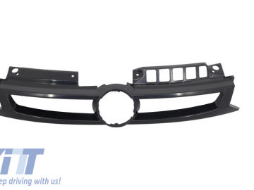 Front Grille Central Mesh Grille suitable for VW Golf 6 VI (2008-up)