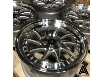 Jante Autostar Vader 17x8 4x100 ET35 Silver Machined