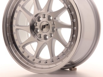 Japan Racing Jr26 17X8 Et35 4X100/114 Machined Sil