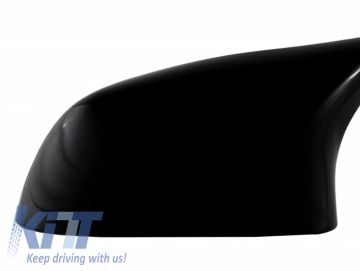 Mirror Covers suitable for BMW X3 F25 X4 F26 X5 F15 X6 F16 (2013-2019) Piano Black M Design