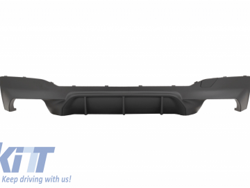 Rear Bumper Diffuser suitable for BMW 5 Series G30 G31 Limousine/Touring (2017-up) M5 Design Matte Black