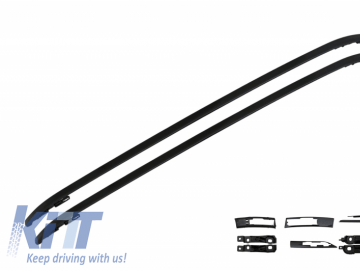 Roof Racks Roof Rails suitable for Land ROVER Range ROVER Evoque (2011-up) Black
