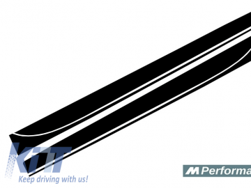Side Skirts Add-on Lip Extensions suitable for BMW F30 F31 3 Series (2011-Up) M-Performance Design