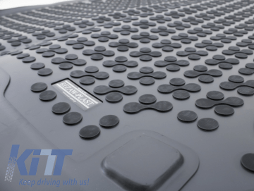 Trunk Mat Black suitable for DACIA DOKKER 2012-