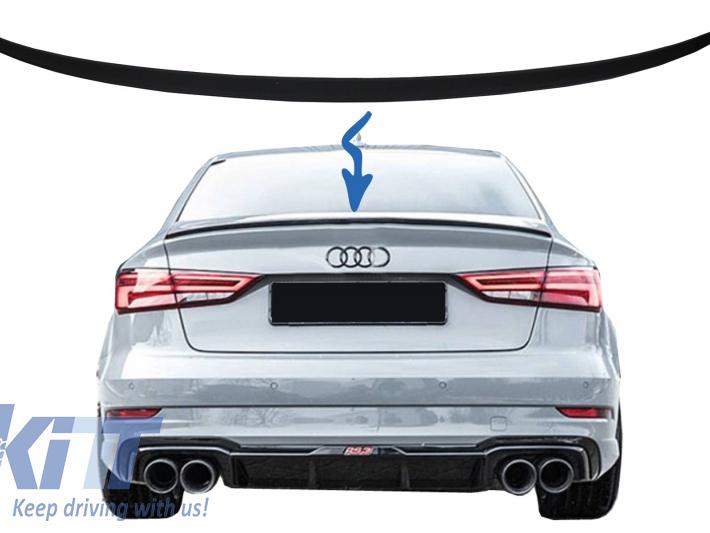 Trunk Spoiler Suitable For Audi A3 8v Sedan  2013