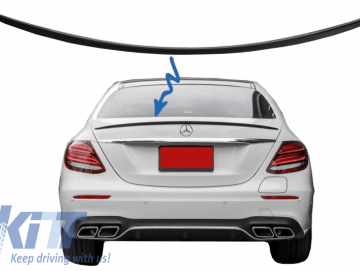 Trunk Spoiler suitable for Meredes E-Class W213 (2016-up) Matte Black